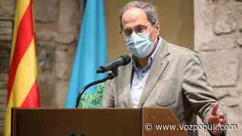Torra rechaza la decisión judicial sobre el confinamiento de Lérida - Vozpópuli