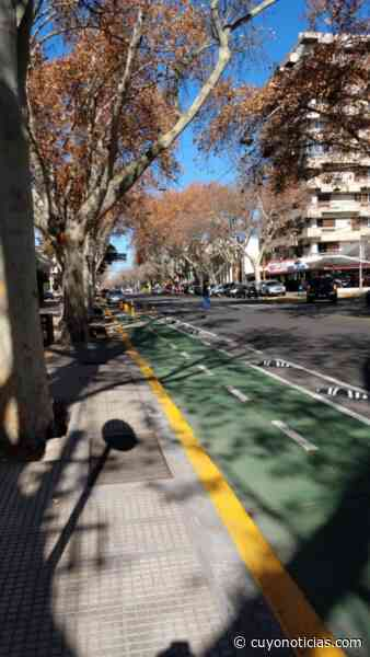 Quedó habilitado un tramo de la ciclovia por Avda San Martín en Mendoza - Cuyonoticias