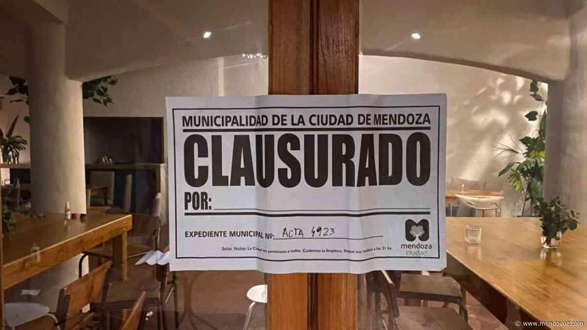 Clausuraron un bar en el parque San Martín - Mendovoz