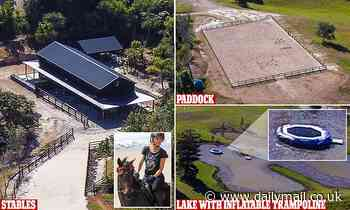 The Hemsworth family ranch continues development at their $4.25 million Byron Bay estate - Daily Mail
