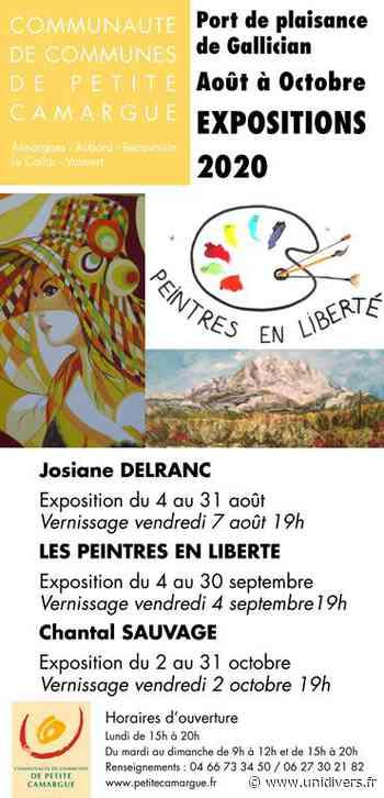 Expositions Peintres en Liberté – Gallician mardi 4 août 2020 - Unidivers