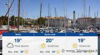 Météo La Rochelle: Prévisions du lundi 3 août 2020 - 20minutes.fr