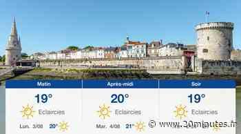 Météo La Rochelle: Prévisions du dimanche 2 août 2020 - 20minutes.fr