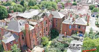 Drone pilot captures detailed photos revealing sad state of Grimsby's former art college - Grimsby Live