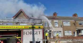 Updates as firefighters battle house blaze on Eleanor Street in Grimsby - Grimsby Live