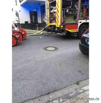 Brand in einer Stromunterverteilung in einem Lokal - Marl - Lokalkompass.de