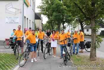 Radtour mit Bodo Klimpel (Haltern) & Angelika Dornebeck (Marl): Landratskandidat für den Kreis Recklinghausen sieht sich die Entwicklungsmöglichkeiten in Marl an - Marl - Lokalkompass.de