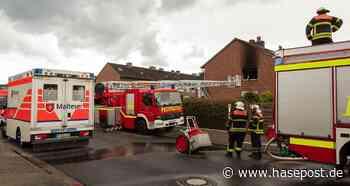 Wohnungsbrand beschäftigt Feuerwehr in Bramsche | hasepost.de - HASEPOST