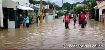 Decenas de viviendas inundadas en sector Santa Ana y barrio Azul - Red De Noticias