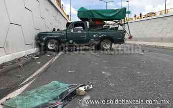 Precaución: caos vial por accidente en carretera Santa Ana-Apizaco - El Sol de Tlaxcala