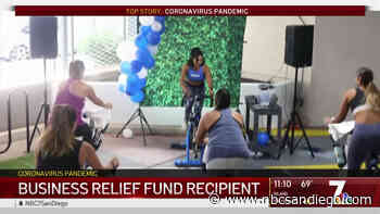 Indoor Cycling Owner Gets Relief Assistance - NBC 7 San Diego