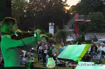 Höchstadter Freibad wird zur Konzertbühne