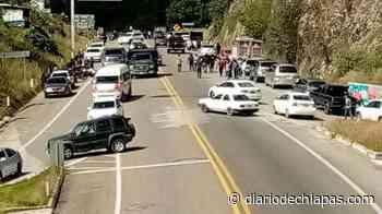 Bloquean de manera total vía San Cristóbal-Tuxtla region - Diario de Chiapas