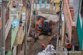 Obras en San Cristóbal buscan beneficiar a más de 120.000 ciudadanos - El Espectador