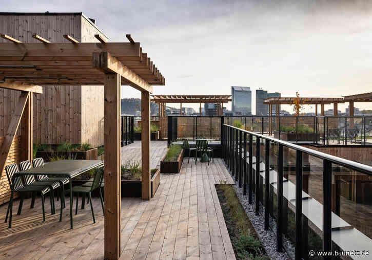 Brettsperrholz in Oslo  - Wohnungsbau von Alliance Architecture Studio