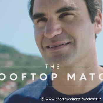 Federer palleggia sui tetti di Finale Ligure - Sportmediaset - Sport Mediaset