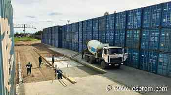 Segezha Group started construction of container terminal in Lesosibirsk, Russia - Lesprom Network