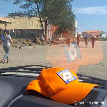 Em Imbituba: equipes monitoram o acesso às praias - Notisul