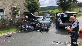Auto gerät in Kierspe in Gegenverkehr: Vier Personen verletzt - come-on.de