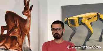 Momentaufnahmen aus Halle: Künstler zeigt in einer Ausstellung ein Auge für die Details - Mitteldeutsche Zeitung