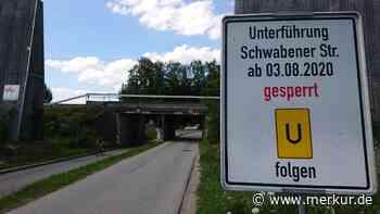 Bahnunterführung wird geschlossen: Umleitung zum Wildpark Poing - Merkur.de