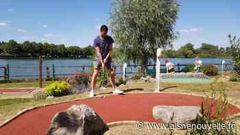 Le minigolf de Saint-Quentin refait le plein de joueurs, les putters séduisent au parc d'Isle - L'Aisne Nouvelle