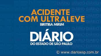 Notícias - Ultraleve cai próximo do Aeroclube de Biritiba Mirim com vítima fatal - Diário do Estado de S. Paulo