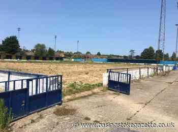 Photos show Camrose football ground left in tatters - Basingstoke Gazette