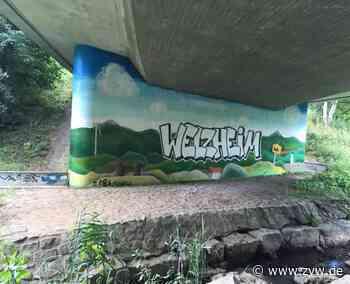 Welzheim wird bunter: Graffiti-Künstler verschönern Wände in der Stadt - Welzheim - Zeitungsverlag Waiblingen