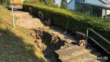 Ursache für Wasserrohrbruch in Konstanz war Riss in Wasserleitung   Friedrichshafen   SWR Aktuell Baden-Württemberg   SWR Aktuell - SWR
