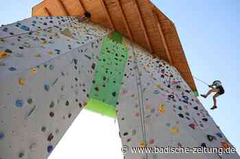 Kindern schnuppern Höhenluft auf dem Lahrer Kletterturm - Lahr - Badische Zeitung