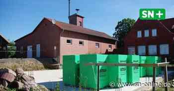 Feuerwehr Hattendorf geht Bau der Fahrzeughalle auf eigene Faust an - Schaumburger Nachrichten