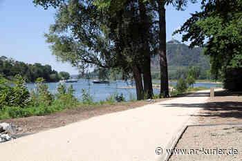 Insel Grafenwerth: Bau der barrierefreien und hochwasserfesten Wege fast fertig - NR-Kurier - Internetzeitung für den Kreis Neuwied