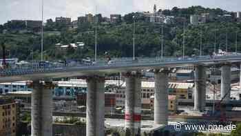 Neue Autobahnbrücke in Genua wird feierlich eingeweiht - Potsdamer Neueste Nachrichten