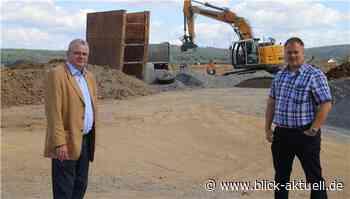 Bundesmittel arbeiten in Herschbach - Blick aktuell