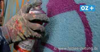 Sprayer auf frischer Tat in Greifswald gestellt - Ostsee Zeitung
