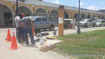 Suspenden energía eléctrica en el Centro de Izamal por el nuevo Oxxo - Reporteros Hoy
