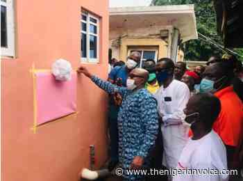 In Nnewi, Anambra Lawmaker Builds Modern Toilet Facility For Traders - The Nigerian Voice