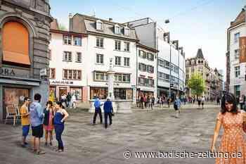 Die Basler Einkaufsmeile bekommt ein Facelifting für 15,5 Millionen Franken - Basel - Badische Zeitung