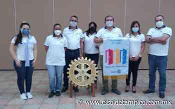 Rotarios Regatas entregan donativo - El Sol de Tampico