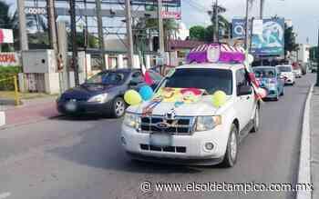 """Caravana para la niñez """"Vamos a Jugar"""" recorre avenidas de Tampico - El Sol de Tampico"""