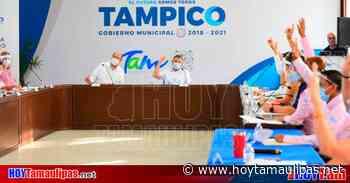 Piden en Sesión de Cabildo de Tampico se exija uso de cubrebocas - Hoy Tamaulipas