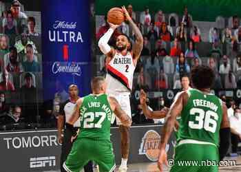 Trail Blazers Overcome Poor First Half But Still Fall To Celtics