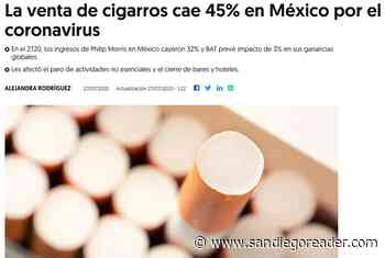 Cigarette smokers across the border take a hit