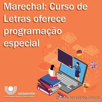 Curso de Letras da Unioeste/Rondon oferece programação especial - O Presente