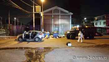 Dos oficiales de la PDI resultan heridos tras balacera en La Florida: Les dispararon más de cien tiros - 24Horas.cl