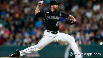 Rockies' Scott Oberg out with blood clots in arm; Wade Davis placed on 10-day IL - ESPN