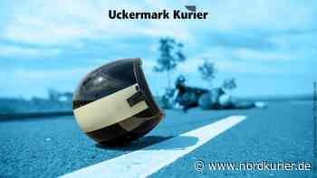 Motorradunfall: Krad kollidiert bei Prenzlau mit Gegenverkehr   Nordkurier.de - Nordkurier