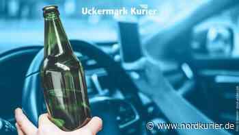 Verkehrsdelikt: In Prenzlau alkoholisiert am Steuer erwischt   Nordkurier.de - Nordkurier