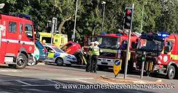 Bury Old Road shut in both directions after serious crash